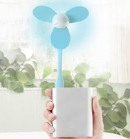 Wholesale whole sale Mini USB Fan Cooling Small Fan for Notebook Computer and power bank leaves ventilado