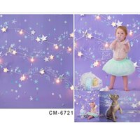Wholesale Photo backdrop babies x10ft x300cm Holiday lights Christmas lights background children s photography for a photo shoot