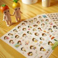 Wholesale C03 Korean couple transparent decorative bee small notebook albums phone cartoon decorative stickers