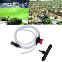 Wholesale 1Pc Original mm Venturi Irrigation Water Tube with Flow Control Switch Filter Kit Brand New