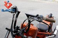 bar racks - ZJMOTO Black Drag quot Z Bars Motorcycle Pullback Handlebars For Custom Chopper Bobber quot hi quot barbe rack inch dent existence
