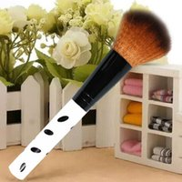 advanced powder - F9s New Portable Advanced Professional Powder Brush with Case Orange