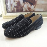 louboutin imitation - Cheap Spiked Loafers Men | Free Shipping Womens Moccasins Boots ...