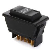 Wholesale Audew Universal Pins Car Power Window Control ON OFF SPST Rocker Switch Master V