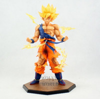 bandai dragonball - bandai action figure Dragon Ball Z Super Saiyan Goku Son Gokou Boxed PVC Action Figure Model Collection Toy Gift Dragonball Evolution Toys