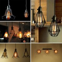 Wholesale Edison Retro Antique Vintage Pendant Light Shade Chandelier Hanging Lampshade