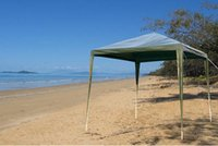 Wholesale 10ft x ft Folding Green Metal Gazebo Canopy Tent Gazebo Beach Canopy