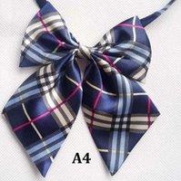 Wholesale Professional uniform neckties fashion female college students neckties bank hotel staff bow tie