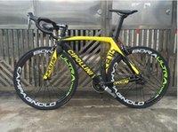 Wholesale 2015 black yellow matte CIPILLION RB1000 full carbon fiber racing complete road bike carbon bike frame group wheel handlebar saddle