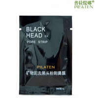 facial mask - 1000pcs PILATEN Tearing Deep Cleansing Purifying Peel off Blackhead Close Pores Face Mask Remove Cleaner Black Head Facial Mask Nose Care