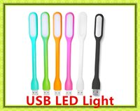 Wholesale Hot Sale Xiaomi LED Light Mini Usb Gadget Portable Bendable Lamp Powered USB Plug Sports Soft Light Free DHL