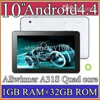 10.1 tablet pc - m20pcs Google inch Quad core GHz Allwinner A31S Android tablet pc Capacitive GB GB Dual Camera HDMI Bluetooth USB OTG PB10A