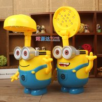 plastic folding table - New Despicable ME2 table lamp with piggy piggy bank function Despicable ME2 Rechargeable Lamps stretchable folding charging small table lamp