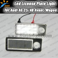 audi wagon - License Plate Light SMD LED kit No Error for Audi A6 C5 B Avant Wagon super bright led car number plate rear light