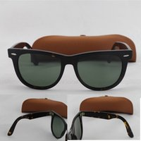 hinges - 2015 Classic Style Brand Sunglasses Best Quality Tortoise Hinge Metal Frame Green mm With Sun Glass Lens In Brown box
