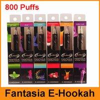 fantasia hookah - 2015 Fantasia E Hookah Pen Puffs With Flavors Metal Tip Disposable E Hookah Portable E Shisha Pen