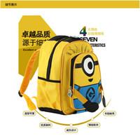 children fabric - 50pcs Despicable Me children cartoon Minion child minions bag backpack for kids children school bags for students schoolbag