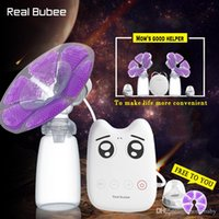 Wholesale DIY Intelligent USB electric breast pumps baby BPA Free Postpartum Breast feeding Breast milk suckers Single avent breast pump