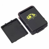 Wholesale TK Car Mini GPS Tracker Quad band Realtime Map GPS GPRS GSM Tracker Device for Vehicle and Personal Use