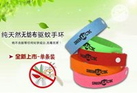 Wholesale Mosquito Repellent Band Bracelets Anti Mosquito Pure Natural Baby Wristband Hand Ring baby bracelets Summer New Arrival