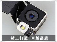 Wholesale Back Rear MP Camera with Flash with Flex Cable Genuine Replacement for iPhone s