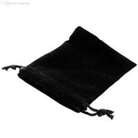 Wholesale New pc black Jewelry Bracelet Necklace x10cm Pouches Velvet Gift Bags Wedding Favors Drop Shipping