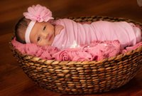 baby cheese - NEW cm baby photography props Newborn Photography Wraps Baby Cheese Cloth Baby Photo props Accessories