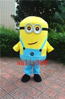 Wholesale Minions Despicable Me Mascot Costume Fancy Dress EVA Very Big and High quality CARTOON fancy dress party carnival parade