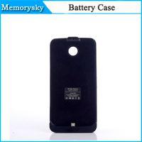 new black power - 2015 New Black mAh Power Bank Battery Backup Charger Case for LG Google Nexus MOTO Nexus6 Shamu XT1100 XT1103 Phone Batteries