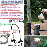 Wholesale Garden Steel Alloy Trimming Saw Outdoor Portable Hand Chain Saw Steel alloy blades durable and long lasting