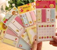 bear writing paper - New sets Cute bear Sticky Memo Pad lovely style bear Memo Writing Pads