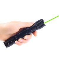 Wholesale 1 Pc Military Miles nm Green Laser Pointer Pen Visible Beam Star Flashlight Aperture