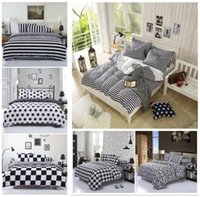 Wholesale 2016 New bedding set Super soft and bed coverlet set Bedding cotton set Queen full twin size Duvet Cover set no quit
