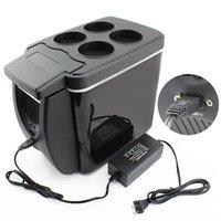 Cheap 12v 37W 6L Car Refrigerator And Household Mini Fridge Portable Car Fridge Portable Medication Cooler Breast Milk Insulin Cooler