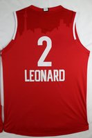 English basketball jerseys for sale - 2016 All Star Basketball Jerseys Red Kawhi Leonard Jersey High Quality Men s Basketball Shirts Cheap Athletic Uniforms for Sale