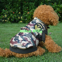 big hair halloween costumes - High Quality WindProof Pet Dog Clothes Camouflage Cotton Pet Dog Jacket Winter Warm Coat Costume for Big Dogs