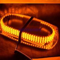 Wholesale 1 X LED Vehicle Roof Top Emergency Hazard Warning Strobe Light Amber New order lt no track