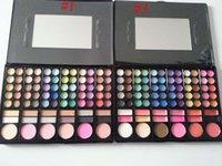 Cheap 78 Color Professional Eyeshadow Palette Fashion Makeup Palette Make Up Cosmetic Eye Shadow 60 Colors EyeShadow 12 Colors Smoky 30set
