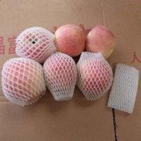 Wholesale WHITE FOAM NET fruit foam sleeves APPLE PACKING FOAM