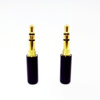 al por mayor conecte el auricular bricolaje-Venta al por mayor Mini-Plug de 3,5 mm audio jack de oro-plateado adaptador de auriculares estéreo para auriculares auriculares de bricolaje o utilizados para la reparación del auricular