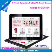Wholesale High quality quot inch RK3066 dual core dual camera MID external G with bluetooth capacitive IPS tablet pc