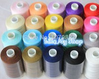 basic sewing machines - European quality hand machine sewing thread yarn basic colors yards each