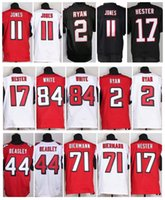 freeman - 2016 Authentic Falcons American Football Jerseys Matt Ryan Julio Jones Devonta Freeman Devin Hester Vic Beasley Mix Order