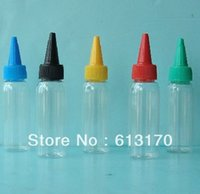 Wholesale 60ml CC Plastic ink bottle Needle nose bottle sample bottle reagent drop Bottle
