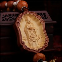 automobile security - Boxwood pendant jewelry upscale automobile vehicle within the creative rosewood car security and peace symbol jewelry Guanyin