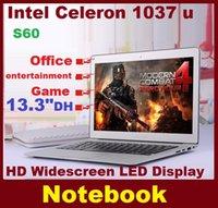 Wholesale 13 inch Laptop Intel U Dual Core GB GB HDD GB GB SSD Dual Hard Disk WIFI Windows Computer HDMIMI WIFI