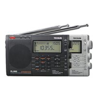 Wholesale TECSUN PL FM Stereo LW MV SW SSB AIR PLL Synthesized Radio