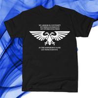 warhammer 40k - Summer style New Playgames Warhammer K tee shirtMens Clothing Cotton O neck Short Sleeve T Shirt Top Tees