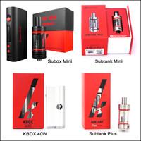 starter - 100 Authentic Kangertech Subox Mini Starter Kit Subtank Mini Nano Kbox w SUbtank Plus V2 RBA vs Aspire Atlantis DHL Free