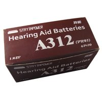 312 hearing aid batteries - Freeshipping stay inpower Germany Advanced Size Hearing aid battery Batteries A312 A ZA312 S312 PR41 original